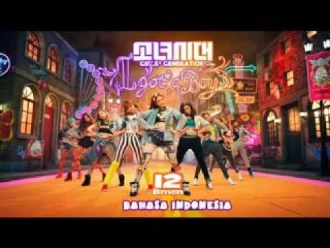 12. Girls' Generation (SNSD) - I Got a Boy (Versi Indonesia - Bmen)