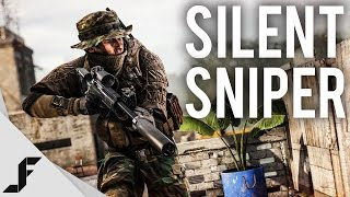 getlinkyoutube.com-SILENT SNIPER - Battlefield 4 Multiplayer Gameplay