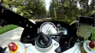 getlinkyoutube.com-Beschleunigung 0 - 100 BMW S1000RR
