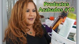 Productos Acabados #10 | DeBellezaConAnyi