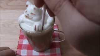 getlinkyoutube.com-お家でラテアート「アワタチーノ」3D Latte Maker