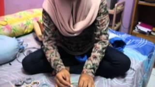 getlinkyoutube.com-Membuat keranjang dari koran bekas - SMA Islam Athirah Bukit Baruga Kelas XI