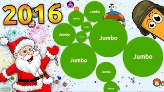 getlinkyoutube.com-BEST AGARIO GAMEPLAY OF 2016 ( Jumbos top agar.io gameplays )