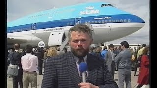 getlinkyoutube.com-1989 - Aflevering eerste KLM Boeing 747-400 (PH-BFA)