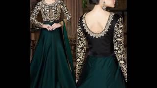 getlinkyoutube.com-Party Wear Anarkali Suits