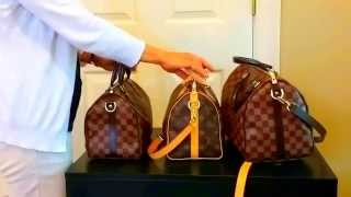 getlinkyoutube.com-Which Size Louis Vuitton Speedy Bandouliere Should you Buy?
