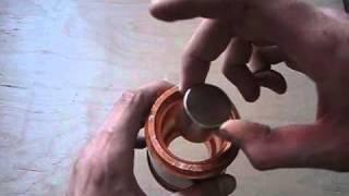 getlinkyoutube.com-Neodymium magnet in copper pipe