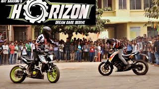 Team Sparking Pistons| Indira Gandhi Institution of Technology|Horizon'16 CollegeFest | Stunt Show