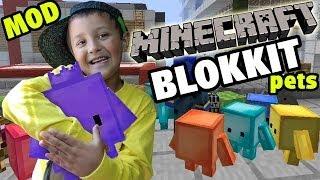 getlinkyoutube.com-Minecraft: Blokkit Pets Mod - Mike & Dad Adventure (Showcase Fun!)