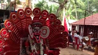 Kuttichathan Theyyam full including thottam Madathil Kshthram Thalassery P2