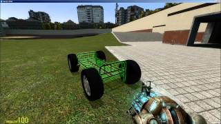 How to Make a Car in Gmod [No Mods Required]
