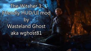 getlinkyoutube.com-The Witcher 3: Friendly HUD/UI mod