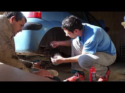 ... C3 - Замена тормозных колодок