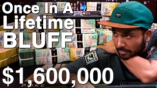 $1,600,000 From $130? Insane Pressure At The Aussie Millions