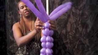 tejido con globos