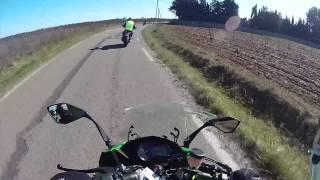 getlinkyoutube.com-Essai #2 - Kawasaki Z1000SX - Kawasaki Tour 2015 -
