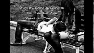 Count On Me -  Whitney Houston (lyrics) width=