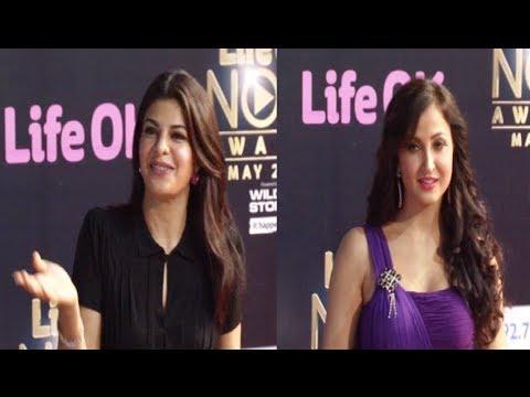 Jacqueline Fernandez, Elli Avram | Life Ok NOW Awards 2014.