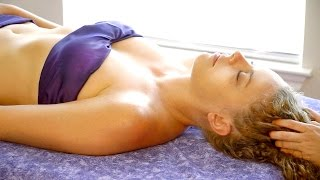 Super Relaxing ASMR Head & Scalp Massage Spa Soft Spoken & Gentle Whispering - Meera Hoffman
