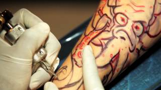 getlinkyoutube.com-(Tattoo Web Series) Under the Needle Episode 1: Paper Frank