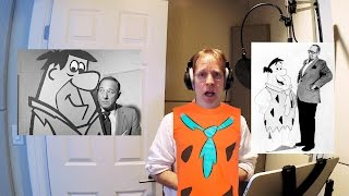 getlinkyoutube.com-Day in the Life of a Voice-Actor: The Fred Flintstone Session