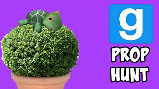 THE TURTLE IN THE PLANT POT | Prop Hunt