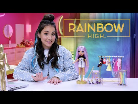 Rainbow High Fashion Studio Exclusive Doll with Fashions Accessories