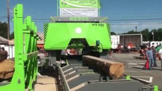 getlinkyoutube.com-MEBOR Horizontal Sawmill HTZ 1200 PLUS, sawing OAK logs