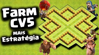 getlinkyoutube.com-Layout Farm cv5 + Estratégia de Guerra - Clash of Clans