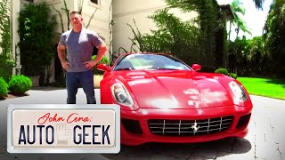 Video Game Driving in real life! Ferrari 599 - John Cena: Auto Geek
