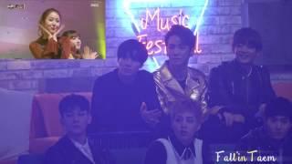 getlinkyoutube.com-161231 EXO & SHINEE reaction to GFRIEND 여자친구 So Hot
