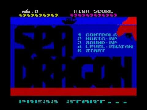Sea Dragon -- played on 'Ensign' level (ZX Spectrum)