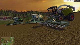 getlinkyoutube.com-Let's Show: Landwirtschafts Simulator 2015 #8 | Maishäckseln mit Jaguar 980 und BigX 1100