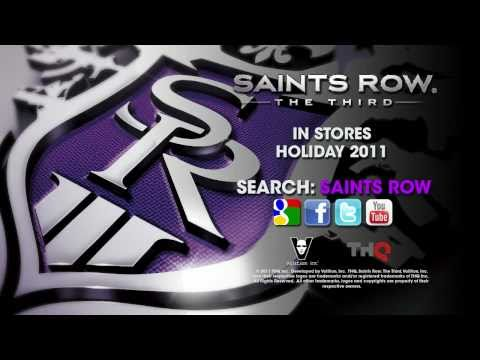 CGR Trailers - SAINTS ROW: THE THIRD First Gameplay Trailer