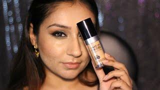 getlinkyoutube.com-Make up For Ever Ultra HD foundation 123 - Review & demo
