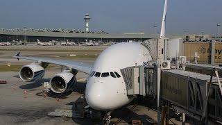 getlinkyoutube.com-Malaysia Airlines A380, Kuala Lumpur   London in Business Class