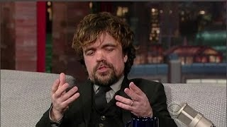 getlinkyoutube.com-Peter Dinklage Interview - Late Night With David Letterman - 26th March, 2014