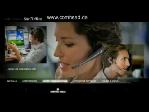 Microphone headphones Rhode - Plantronics Savi WH210 Headset Overview