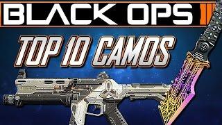 getlinkyoutube.com-Top 10 Paintshop Camos in Black Ops 3! (Best Camos in Black Ops 3)