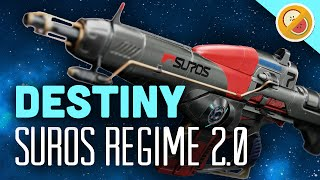 getlinkyoutube.com-DESTINY Suros Regime 2.0 Fully Upgraded Exotic Auto Rifle Review (The Taken King Exotic)