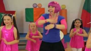 getlinkyoutube.com-Debbie Doo Dance Song For Kids - Roll Your Hands - With Dance School