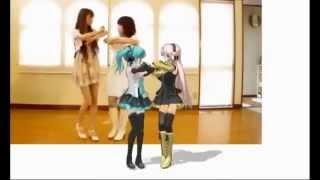 getlinkyoutube.com-Японки танцуют с Miku Hatsune  песня Twinkle Twinkle.