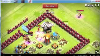 getlinkyoutube.com-kale savaşı castle clash hile hack android