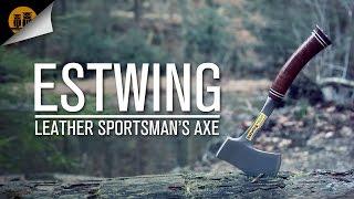 getlinkyoutube.com-Estwing Leather Sportsman's Axe • Hatchet  Field Review