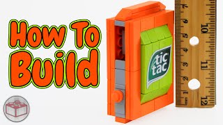 getlinkyoutube.com-How to Build The World's Smallest LEGO Candy Machine