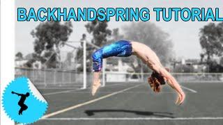getlinkyoutube.com-How To Back Handspring In 4 Steps Even Without A Gym or Spotter
