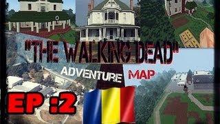 getlinkyoutube.com-Minecraft Romania: The Walking Dead (Adventure map) Ep2