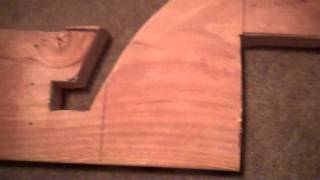 Traditional Archery: How to make a recurve/reflex bow jig #2.MP4