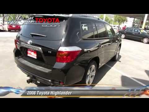 2008 Toyota Highlander La Crescenta CA A19507A