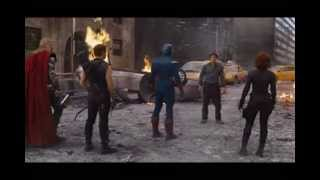 "getlinkyoutube.com-The AVENGERS {HQ]- ""I'm bringing the Party to you"" [..and Hulk, SMASH]"